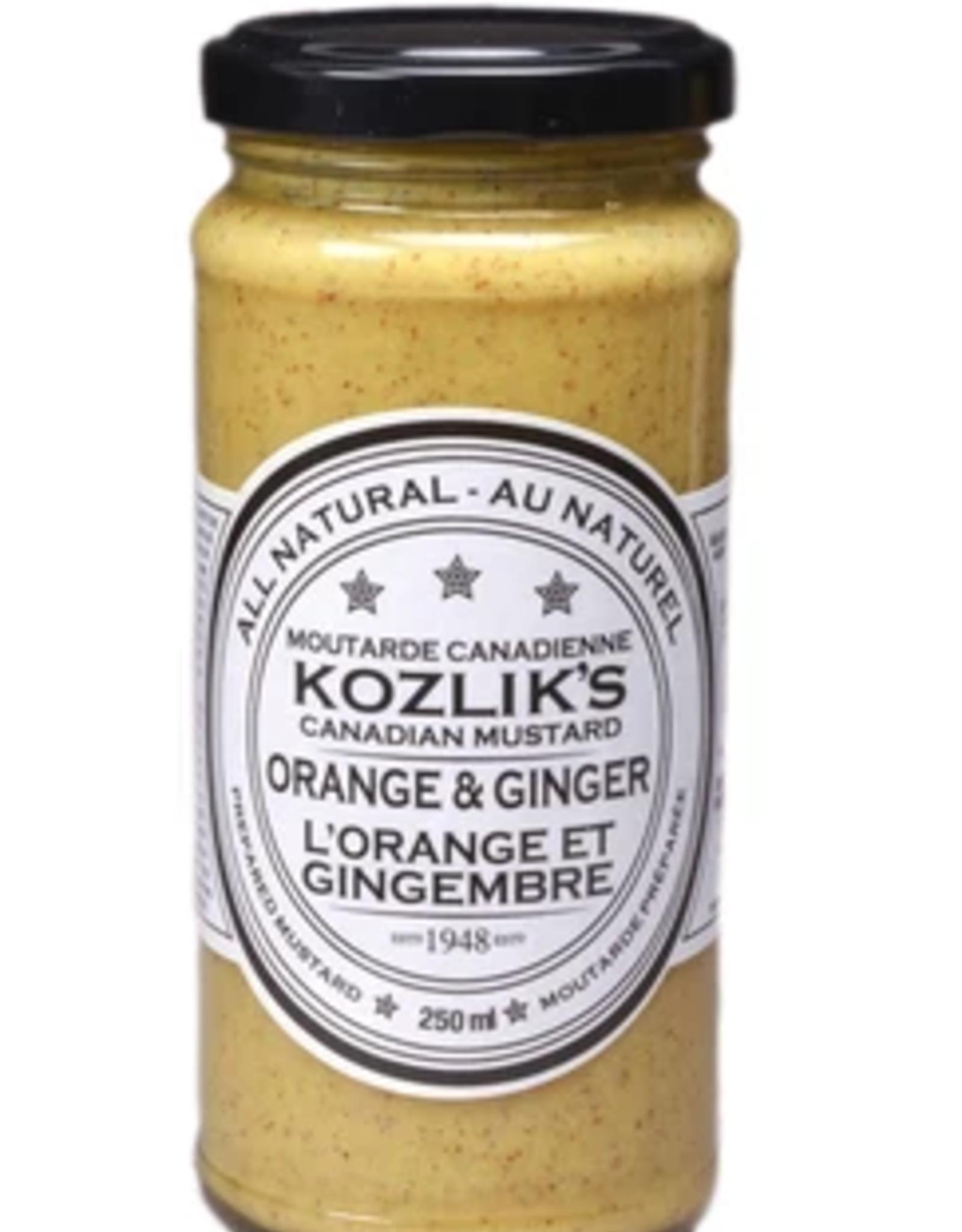 Kozlik's Orange and Ginger Mustard