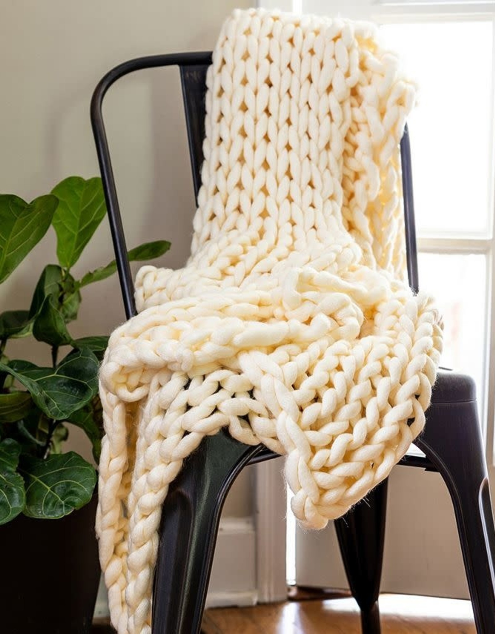 American Heritage Textiles Chunky Knit Throw