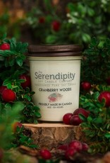 serendipity Cranberry Woods 8oz Candle
