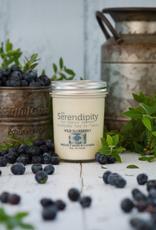 serendipity Wild Blueberry 8oz Candle