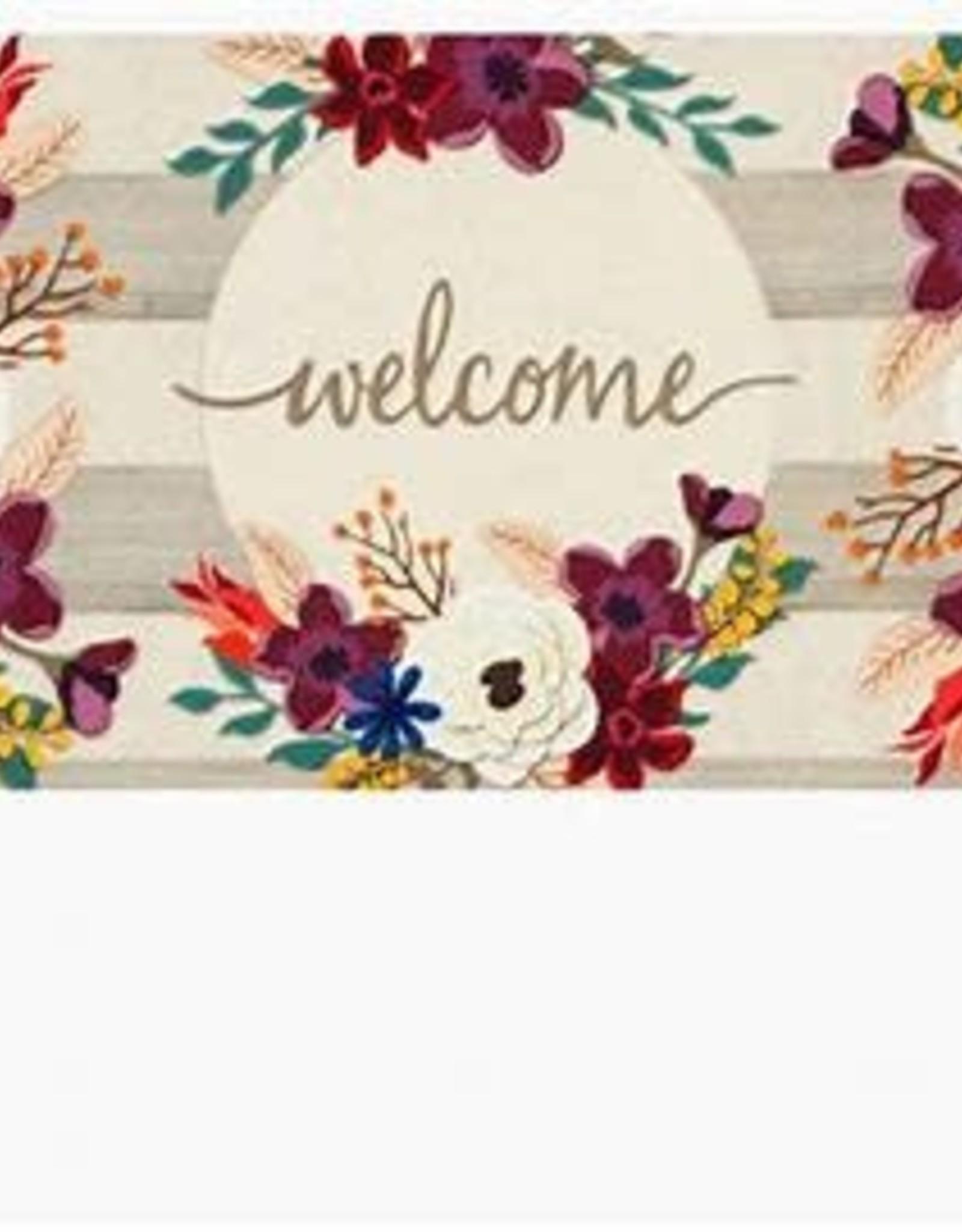 Fall Stripes Welcome Sassafras Switch Mat