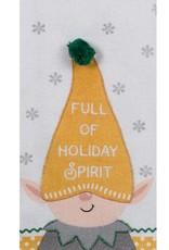 Elf Squad Holiday Spirit Teatowel