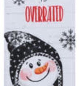 Snowday Overrated Dual Purpose Tea Towel