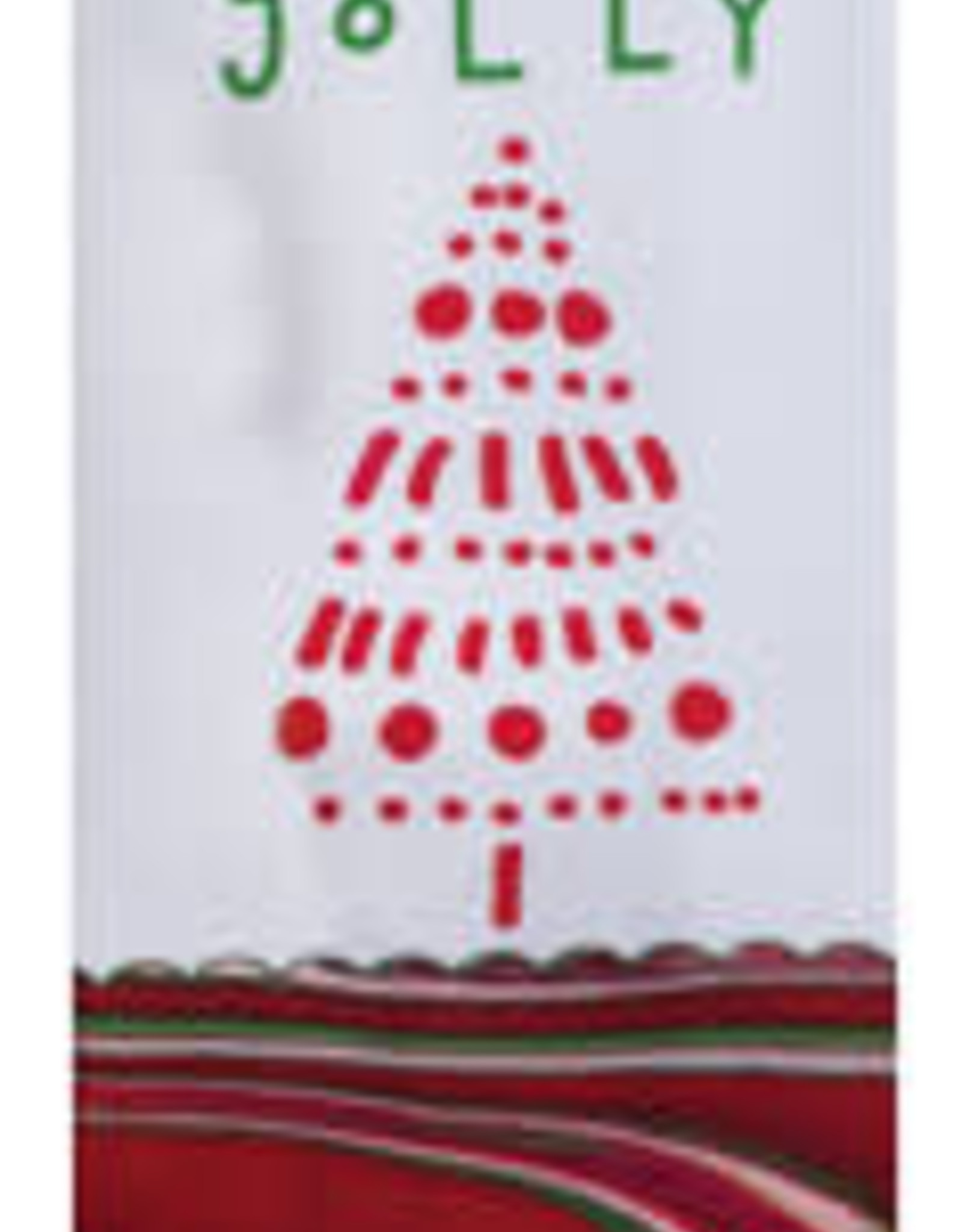 Christmas Tranquility Holly Jolly Dual Purpose Terry Towel