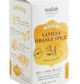Tealish Vanilla Orange Spice Tea Box