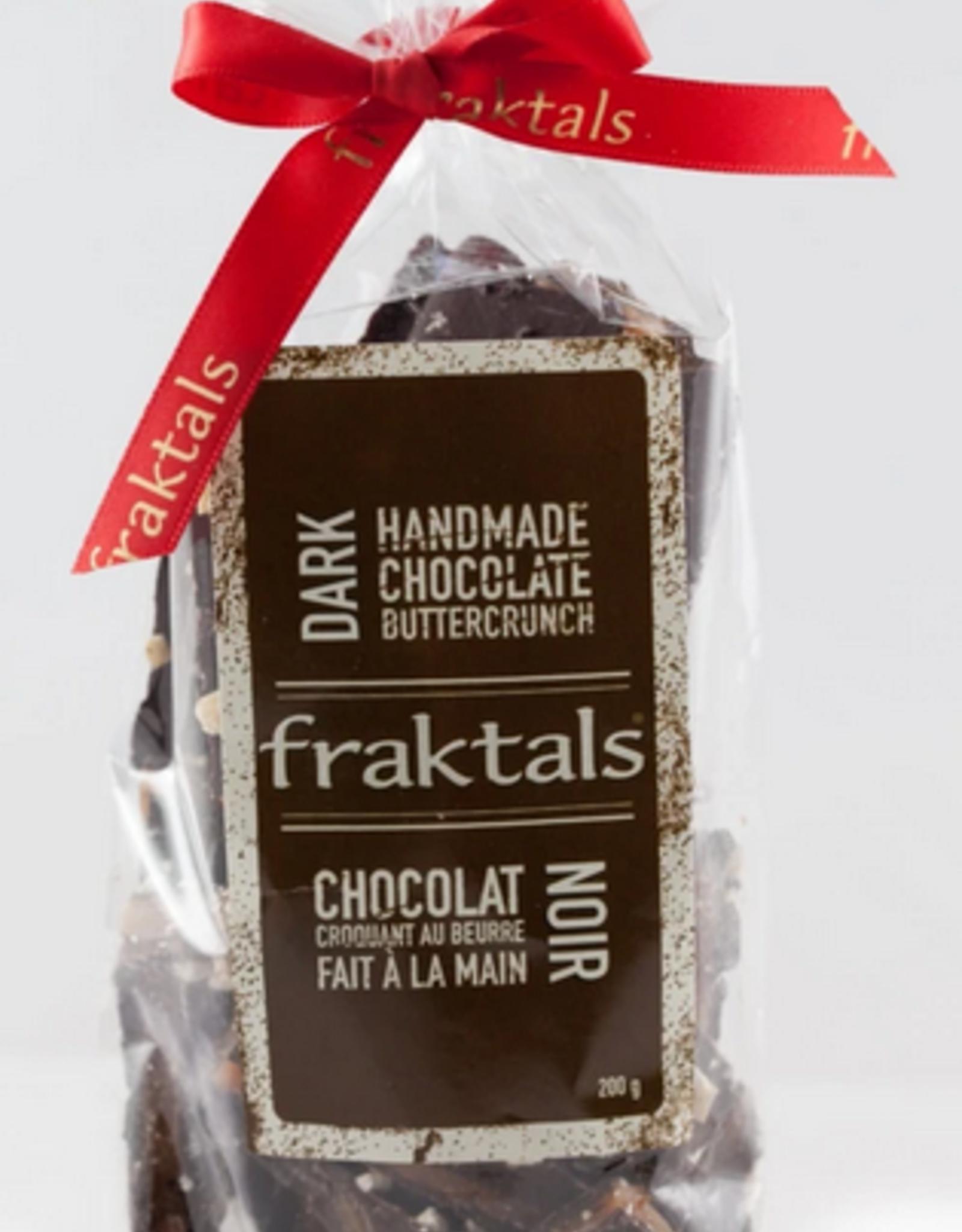 Fraktals Medium 70% Belgian Dark Chocolate Bag 200g
