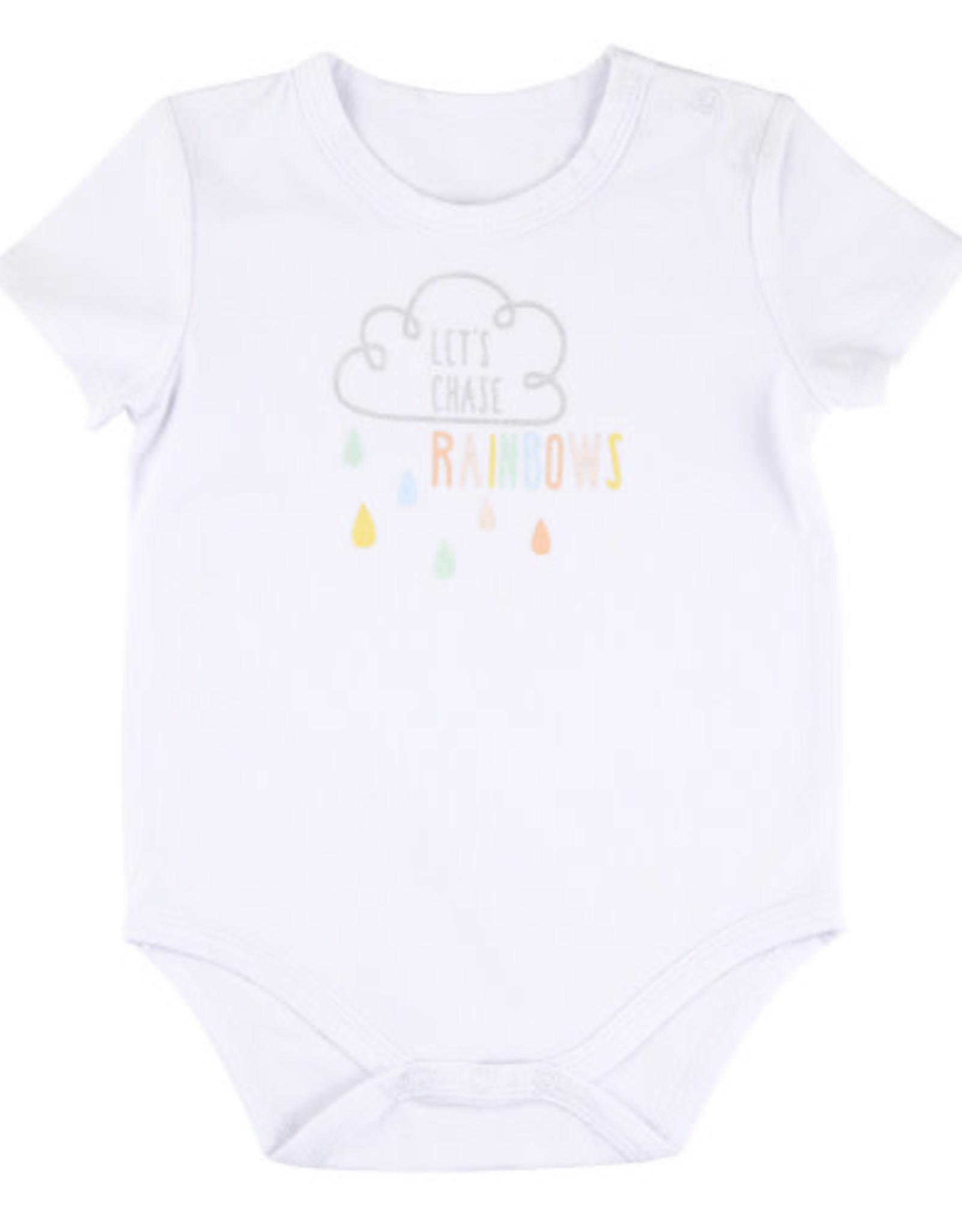 Creative Brands Chasing Rainbows Onsie 6-12 motnhs