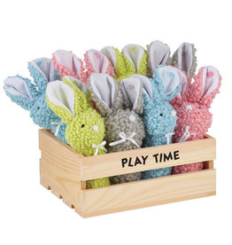 Creative Brands Wooly Bunny Rattle