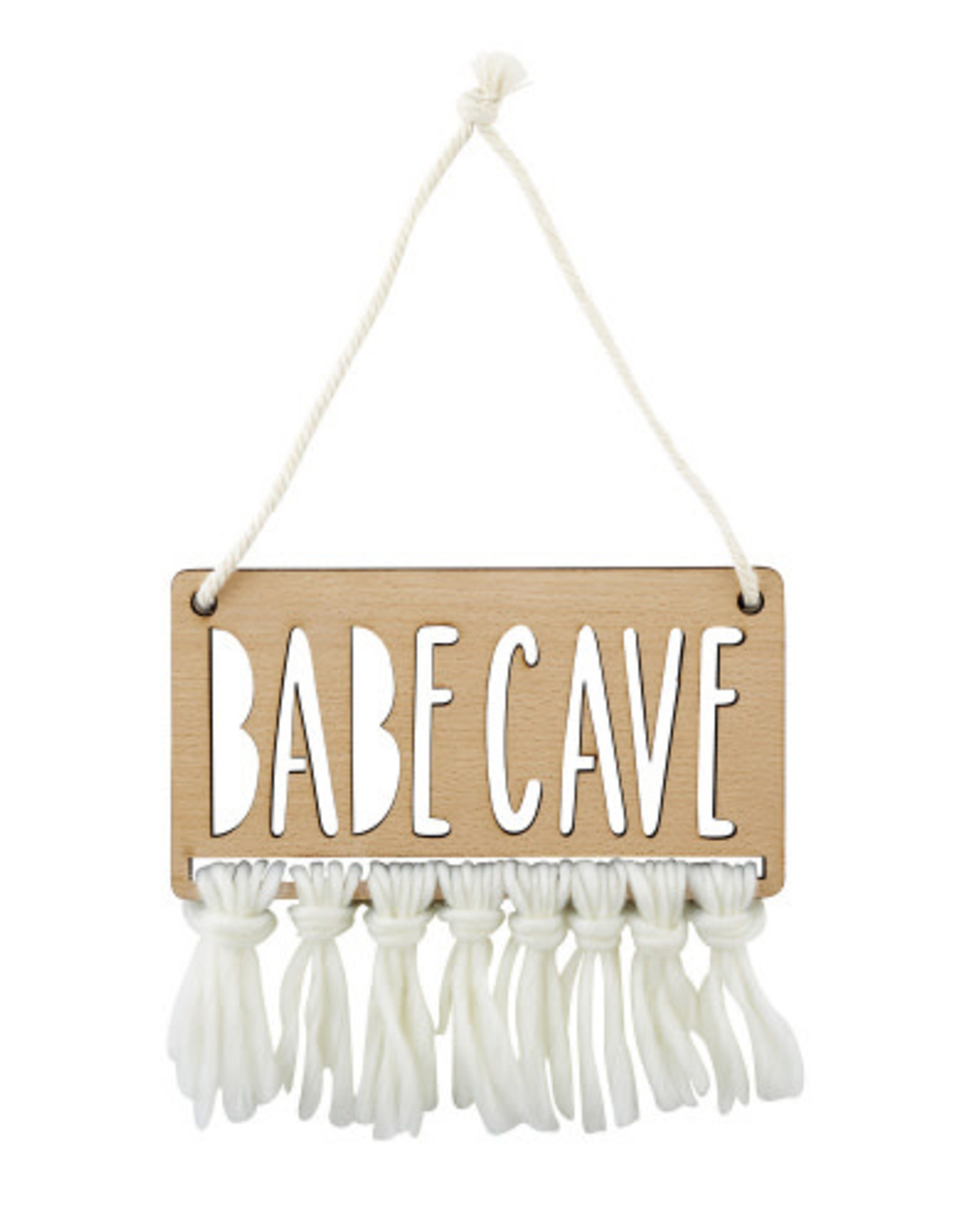 Creative Brands Babe Cave Wooden Sign