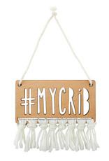 Creative Brands My Crib Wooden Sign