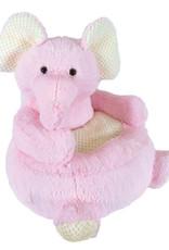 Creative Brands Plush Pink Elephant Chair