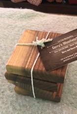 Gerry's Woodworking Walnut Coasters