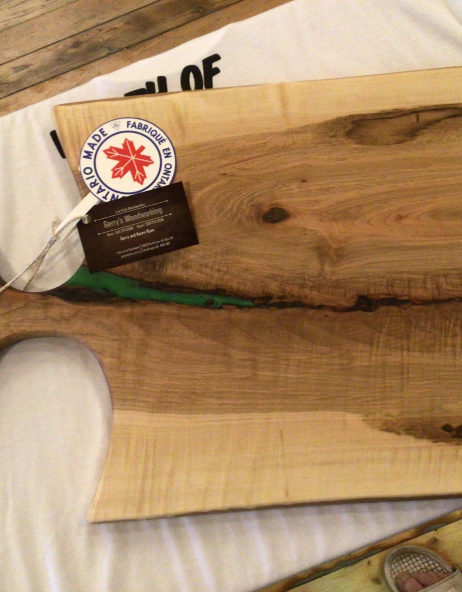 Gerry's Woodworking Maple Charcuterie Board