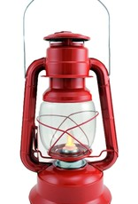 """Koppers Red Lantern with moving flame Approx 9"""""""