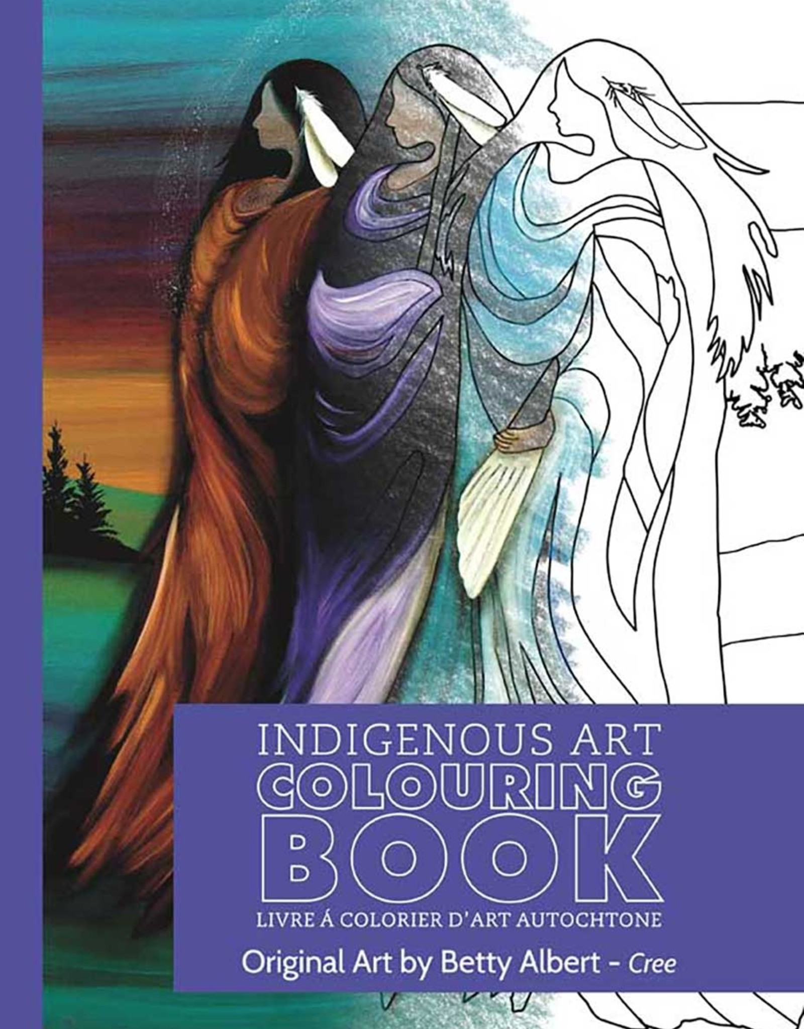 Indigenous Collection Three Sisters Colouring Book
