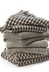 Black & Cream Handloom Throw