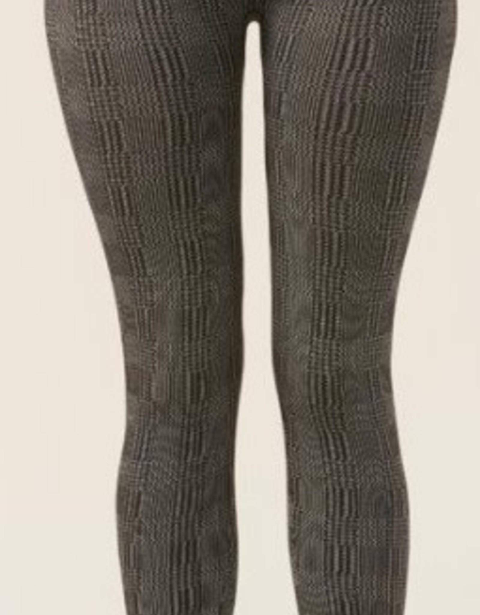 Charlie Paige Spandex Blend Jacquard Leggings