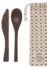 Cutlery Set On The Go Ebony