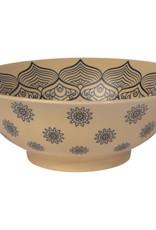 """Porcelain Bowl 8"""" Mandela"""