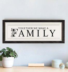 P Graham Together We Make a Familiy Plaque