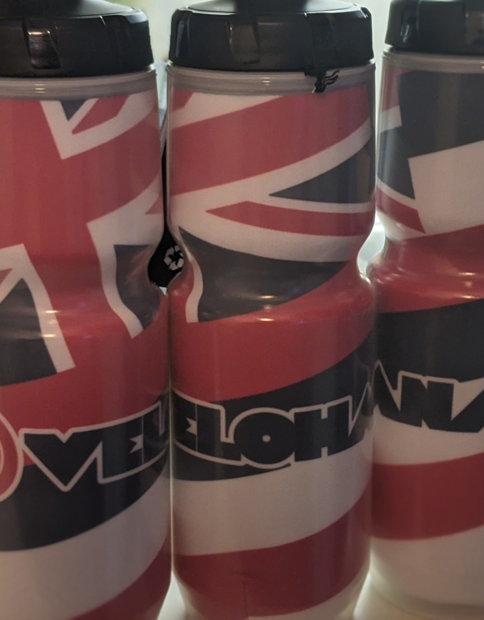 Velohana Chromatek Insulated Water bottle Flag Design