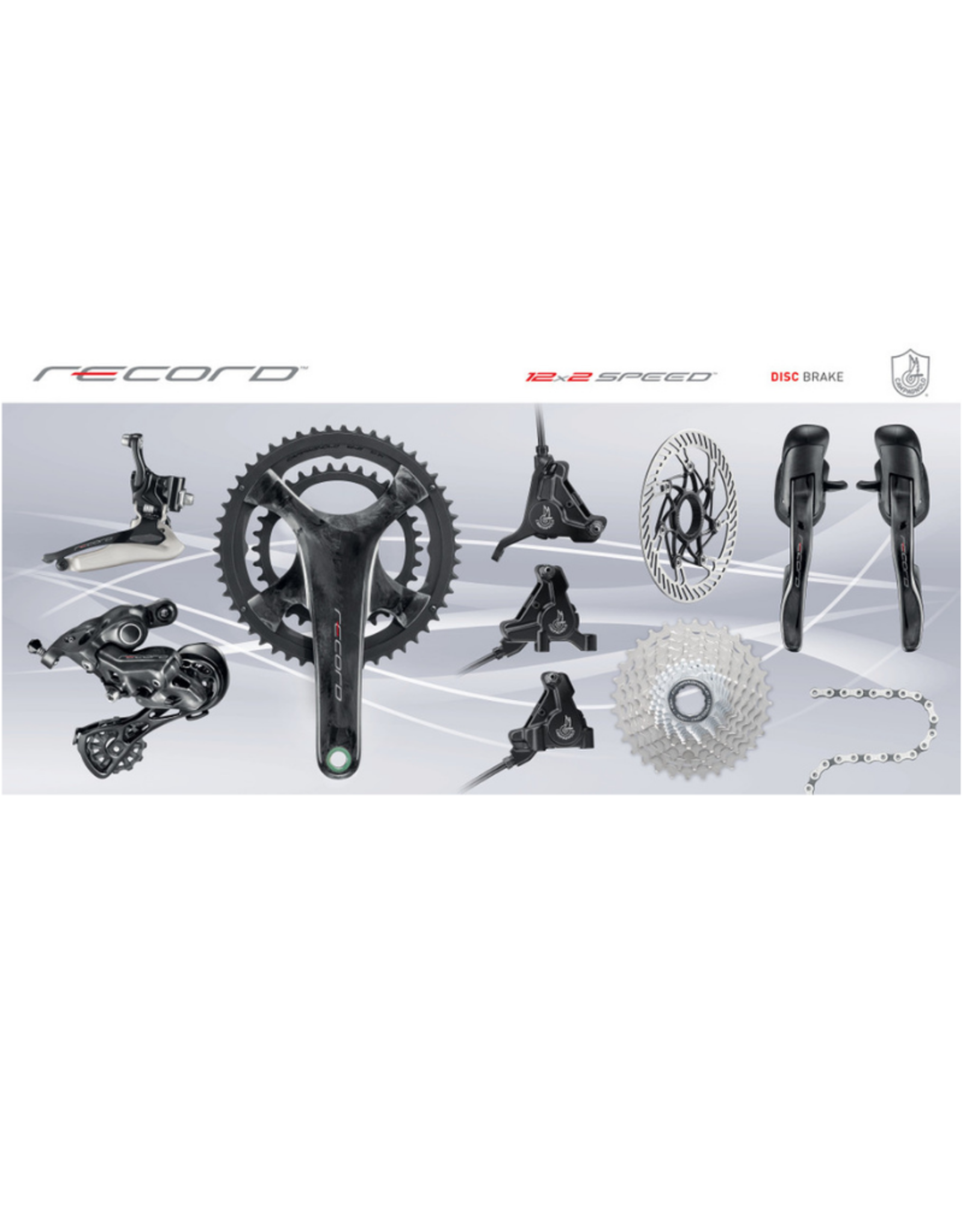Campagnolo Record 12spd  Mechanical/Hydro Groupset