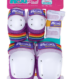 187 187 Moxi Adult Six Pack Pad Set