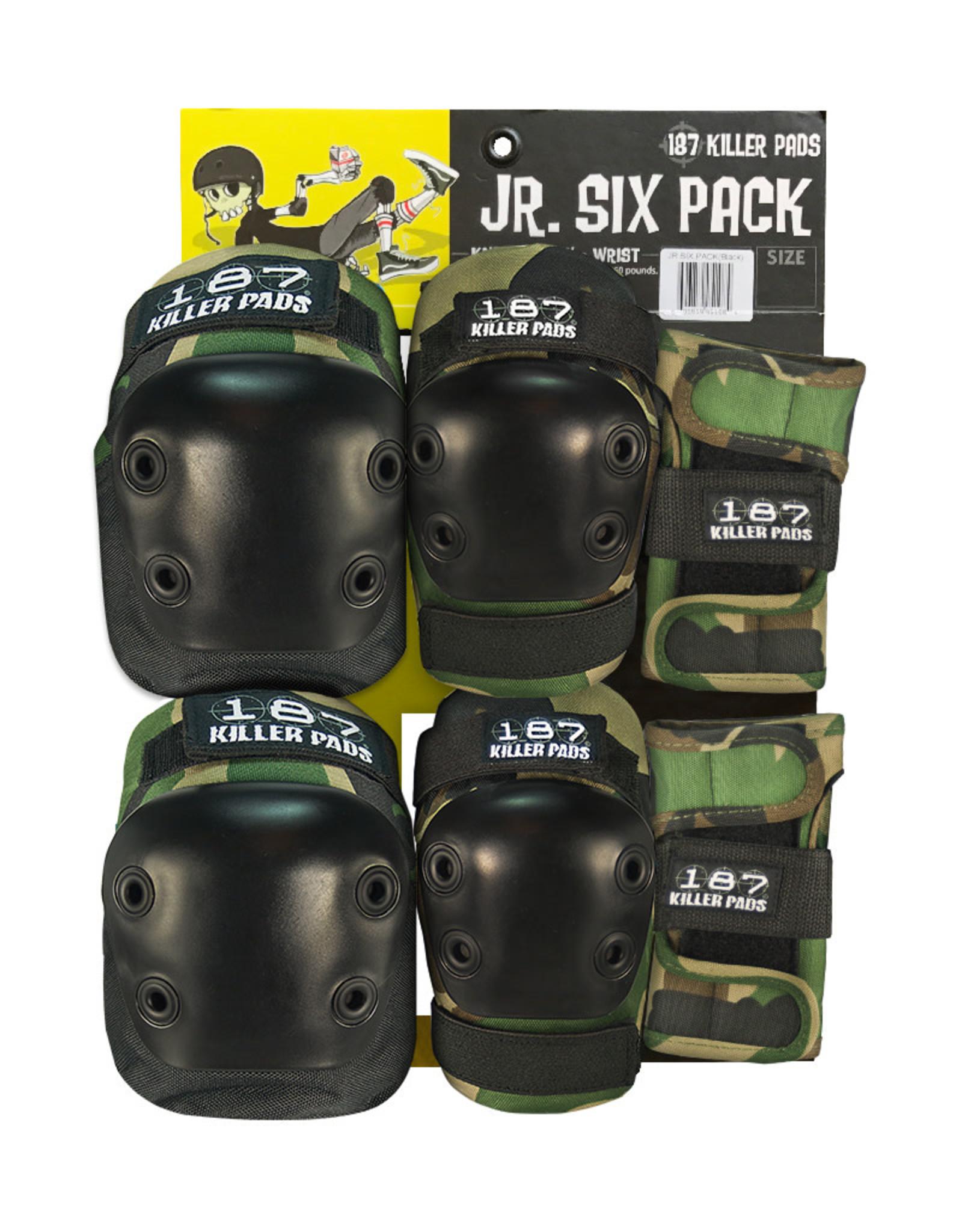 187 187 JR Six Pack Pad Set