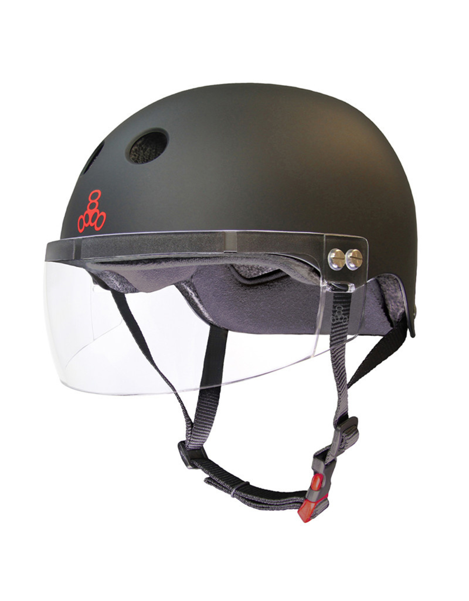 Triple 8 T8 Certified Sweatsaver Visor Helmet