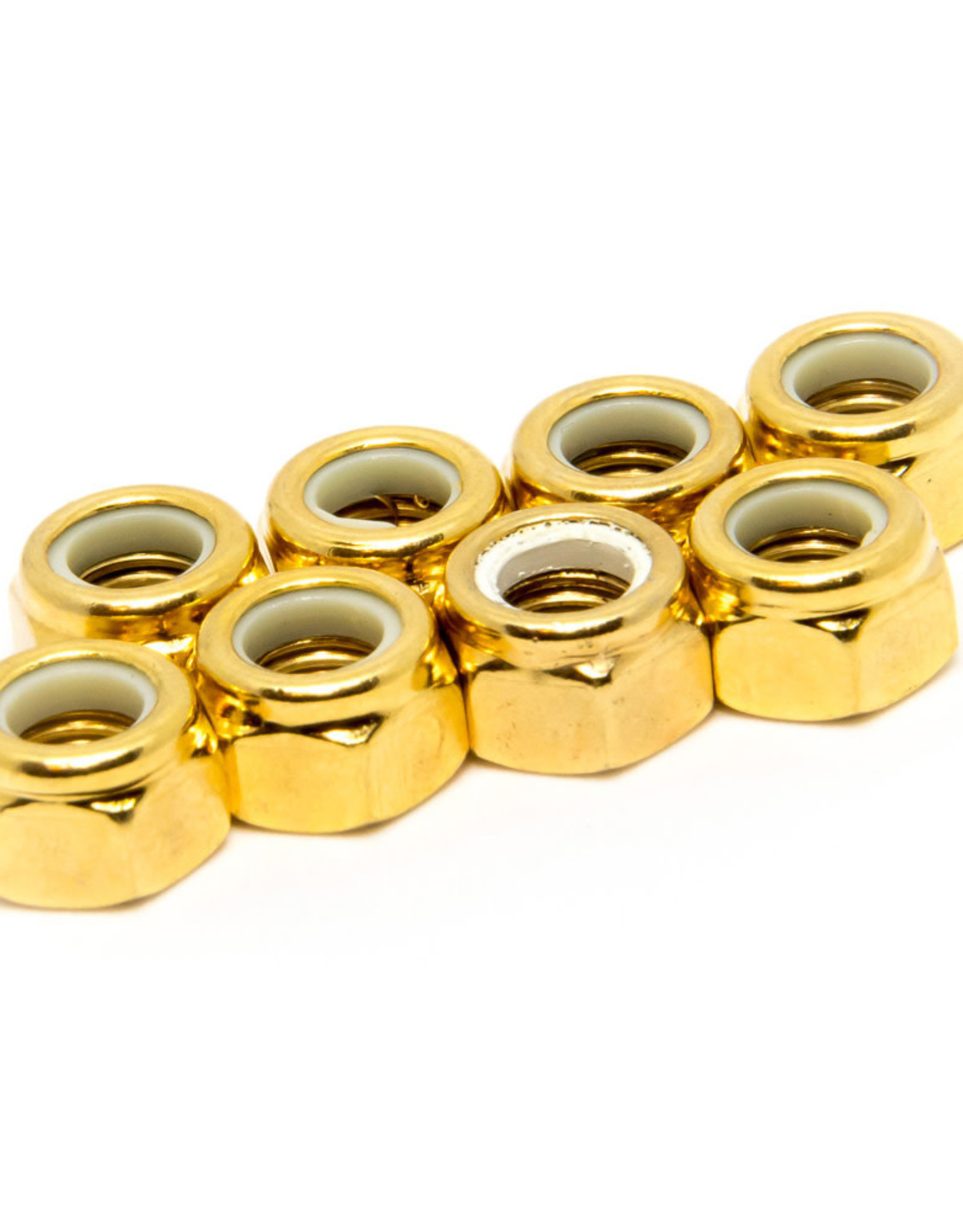 Roll Line Roll Line GOLD Axle Nuts (set of 8)