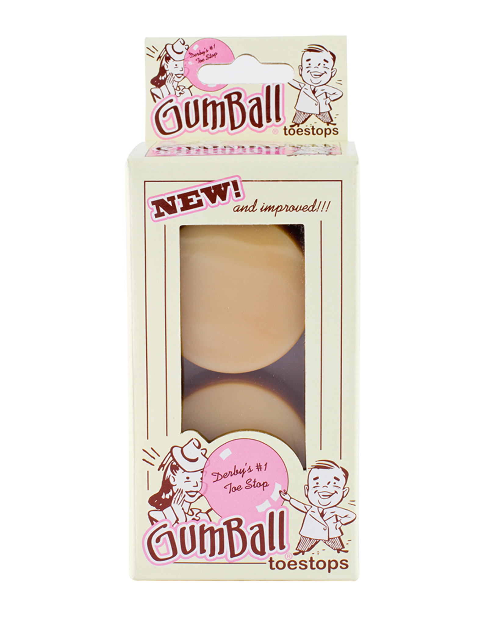 Riedell Gumball Toe Stops