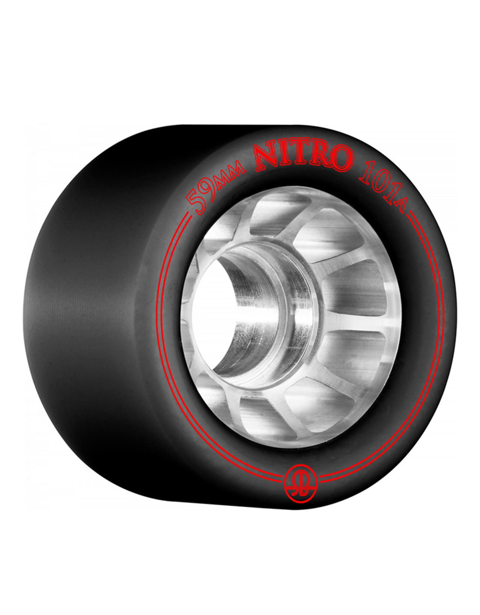 Bones Rollerbones Nitro Wheels, 4 Pack