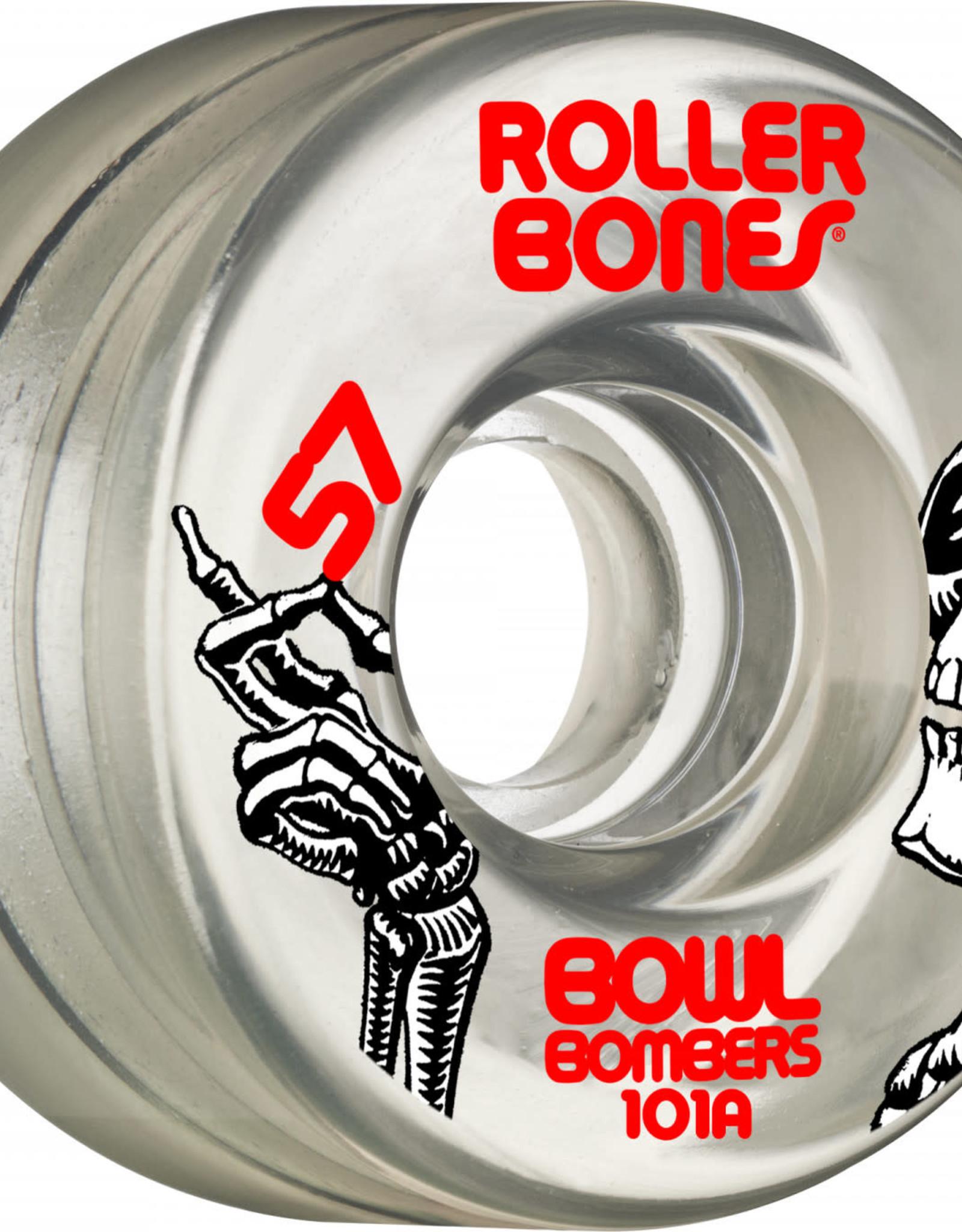Bones Rollerbones Bowl Bombers Wheels, 8 Pack
