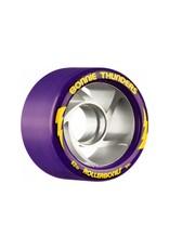 Roll One Rollerbones Turbo Wheels, 4 Pack