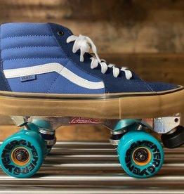 vans VANS SK8-Hi Sneaker Skates, Rainy Day, Blue, size M-10.5, W-12