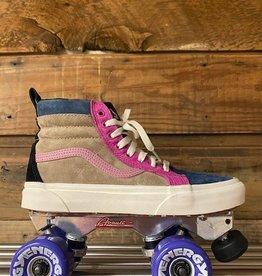 vans VANS SK8-Hi Sneaker Skates, MTE, suede/multi color, size M-7.5, W-9