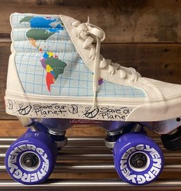 vans VANS SK8-Hi Sneaker Skates Save Our Planet, multi color, size M-6.5, W-8