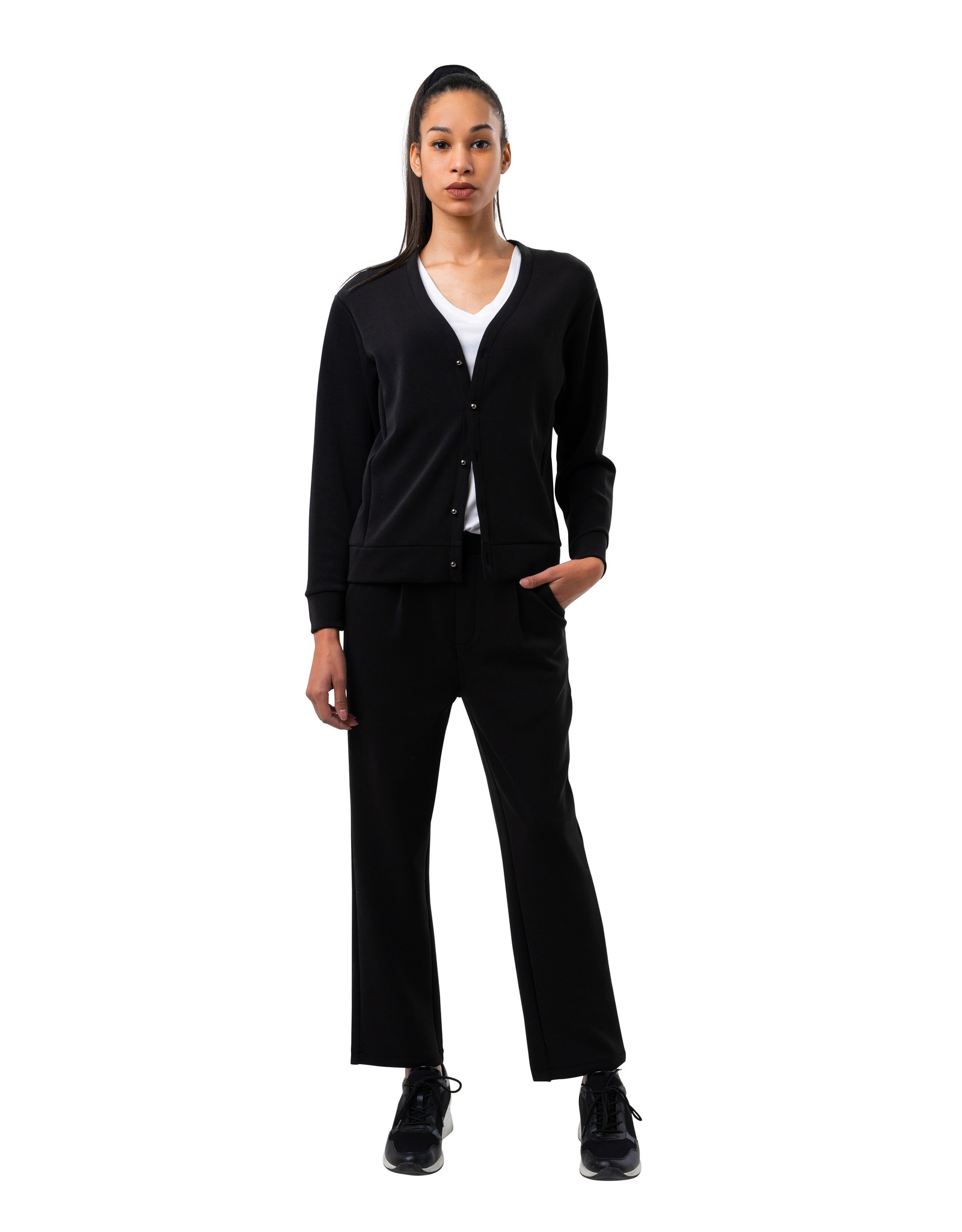 Pantalon en  Modal Noir