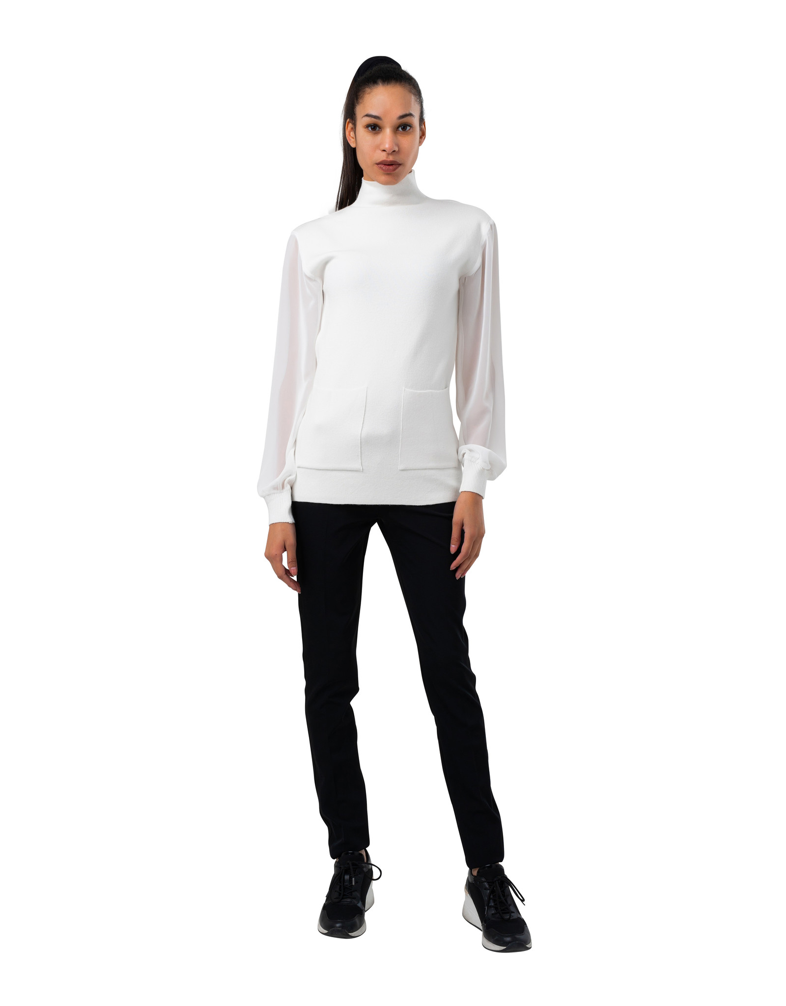 Coco Angelo Chandail Coco pull mock neck