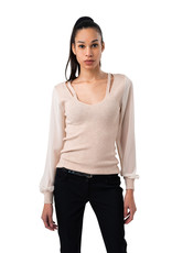 Coco Angelo Chandail Coco pull v neck