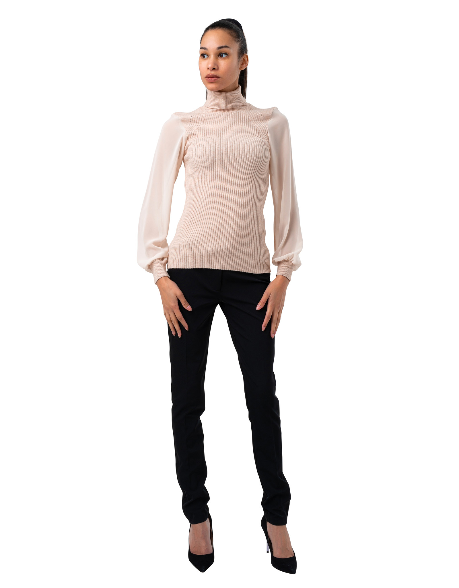 Coco Angelo Chandail Coco pull col roulé