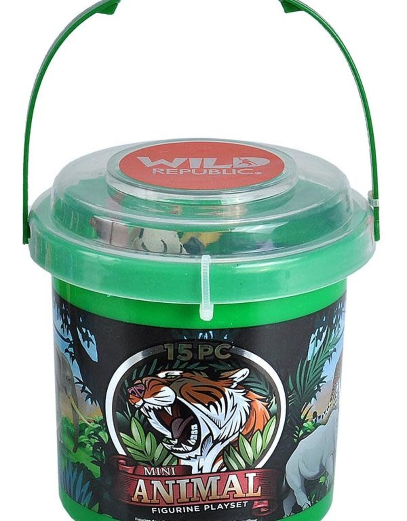Wild Republic Animal Bucket