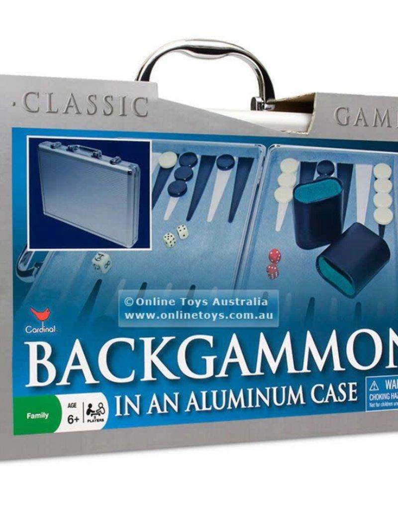 Backgammon Aluminum Case