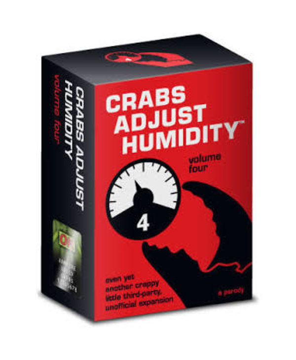 Crabs Adjust Humidity V4