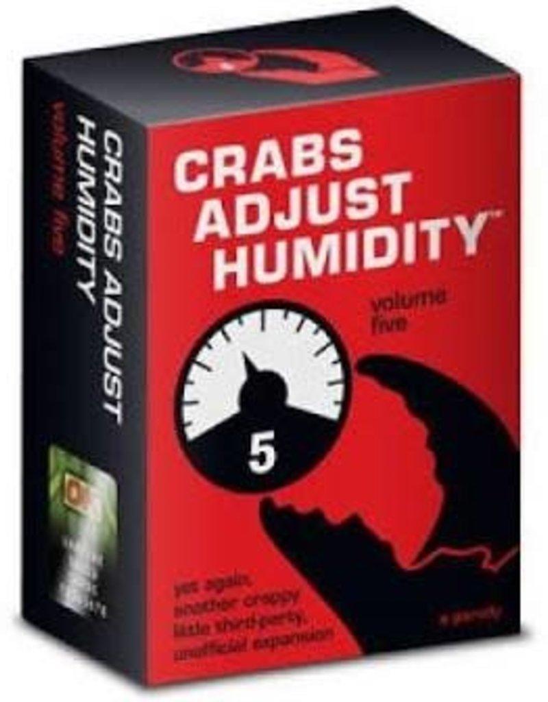Crabs Adjust Humidity V5