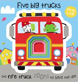 Five Big Trucks