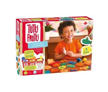 Tutti Frutti Play Dough Construction