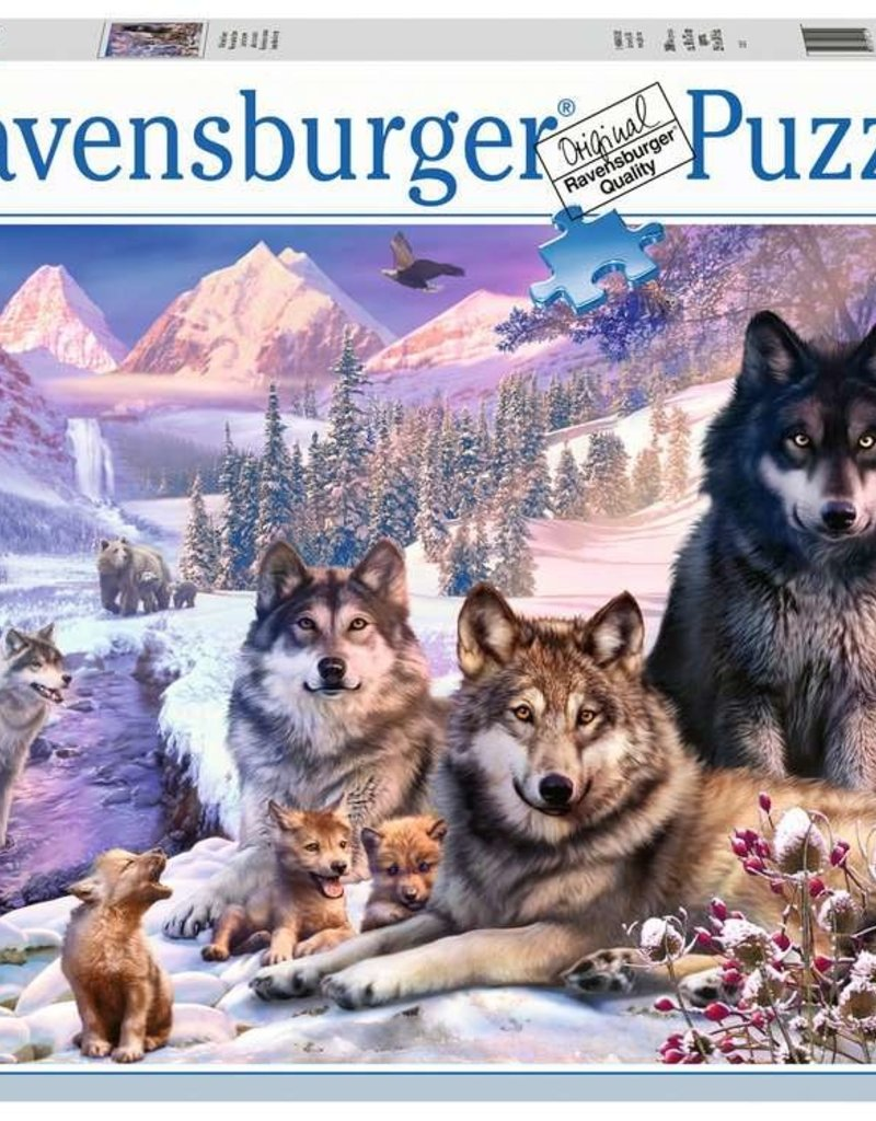 Ravensburger Wolves in the snow