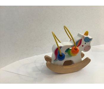 Wood Unicorn Rocking Toy
