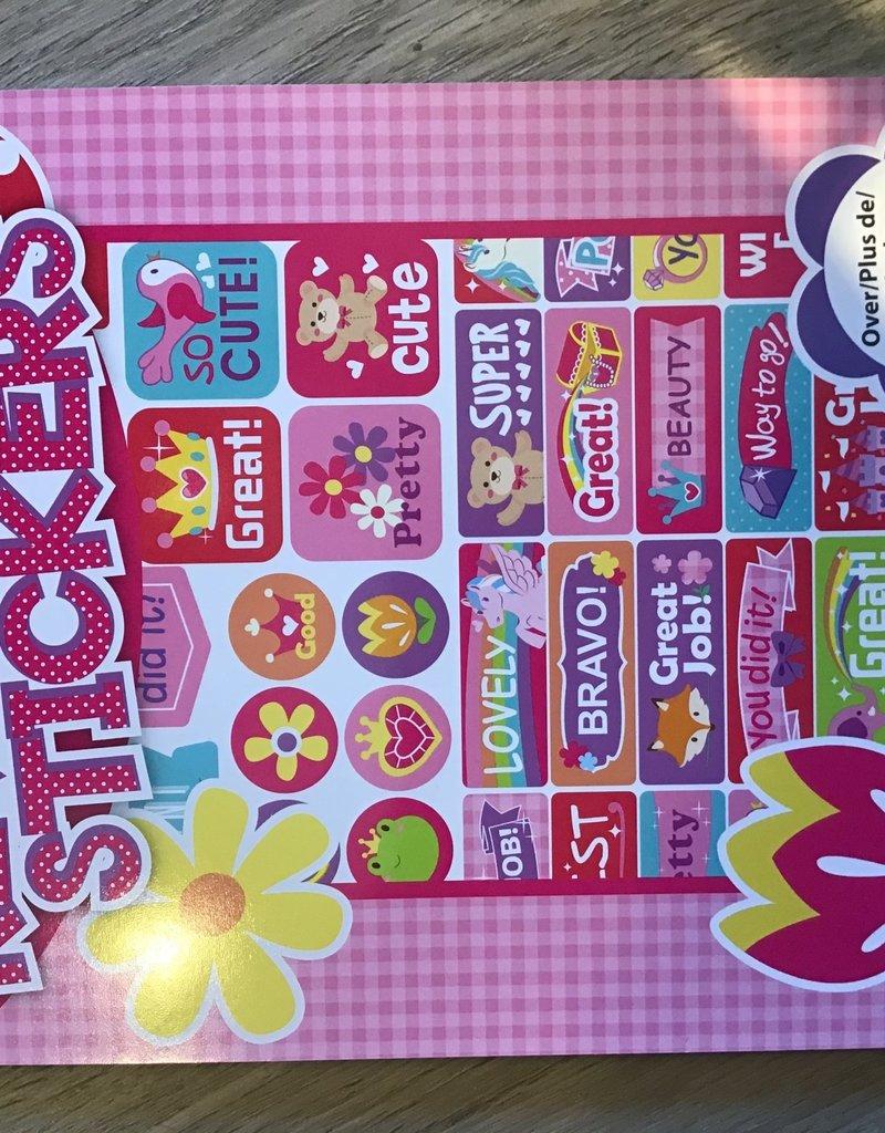 Reward Stickers Pink
